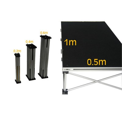 1m x 0.5m Eco_Stage Riser platform plus Various riser heights_ROC051_ROC052_ROC053.jpg