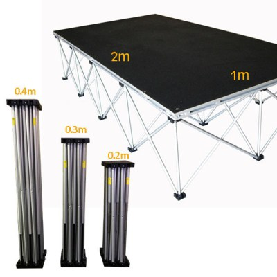 2mx1m Eco-Stage Riser ROC061 ( Various Heights)_ROC061_ROC062_ROC063.jpg