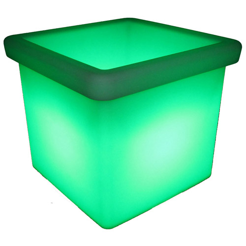 LED low square planter green_watermarked