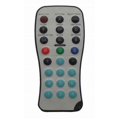 VIS0500 RGB Infra Remote Control
